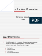 Lexicology_II_-_Wordformation