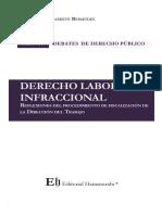 DERECHO LABORAL INFRACCIONAL Reflexiones del procedimiento de fiscalización de la Dirección del Trabajo
