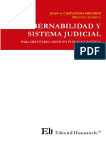 GOBERNABILIDAD Y SISTEMA JUDICIAL