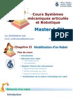Chapitre II Systèmes mécanique articulés et Robotique_Modélisation dun robot_Boutaani 2020.pdf