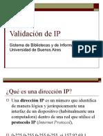 Validacion de IP.ppt