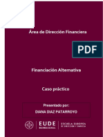 CASO PRÁCTICO - SOLUCION - FINANCIACION ALTERNATIVA
