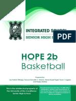 HOPE 2B- Module 1 Basketball