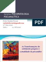 1 PSICOPATOLOGIA PSICANALÍTICA AULA 1  13ago20.pdf