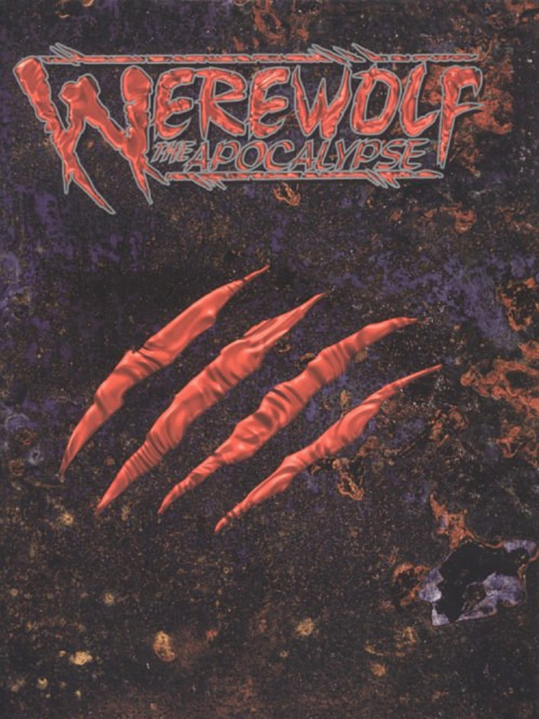 Werewolf the apocalypse revised edition werewolves fandeluxe Choice Image