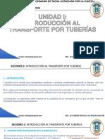 INTRODUCCIÓN AL TRANSPORTE POR TUBERÍAS