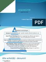 1 Curs Aquagym