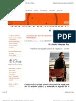 ADOLFO VASQUEZ ROCCA _ ANTONIONI; DEL ANTINATURALISMO AL CINE DE LA INCOMUNICACÓN - REQUIEM POR LA MODERNIDAD _ ESCANER CULTURAL 2007