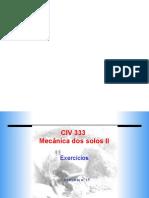 Exercício 15 - adensamento