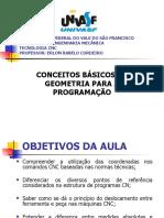 Aula 5 - conceitos básicos de geometria para programação