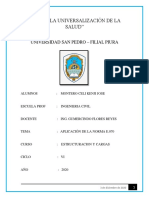 ESTRUCTURACIÓN DE VIVIENDA EN ALBAÑILERÍA CONFINADA
