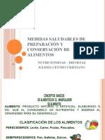 DIAPOSITIVAS CONSERVACION DE ALIMENTOS