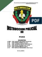 SILABO DESARR. INSTRUCCION POLICIAL III