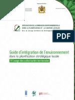 GUIDE INTEGRATION ENVIRO DANS PLANIFICATION