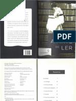 FAGUET, E. A arte de ler. Cap. 1 e 2