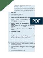 REQUISITOS PARA REGISTRO DE TENENCIA DE ARMA DE FUEGO INDIVIDUAL