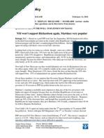 PPP Richardson Poll 2-11-11