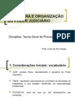 ESTRUTURA E ORGANIZAÇÃO DO PODER JUDICIÁRIO