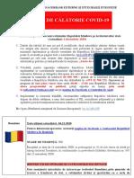 Alertele de călătorie pentru cetățenii moldoveni, actualizate conform situației din 4 decembrie 2020