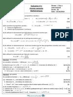 Devoir Maths 1bac Sx International Fr s1 3