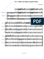 Sonate à 3 flûtes - Ignatio Pulici
