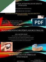 Tratamiento con férulas oclusales.pptx