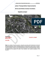 Schwenk Drive, Clinton Avenue Traffic Study