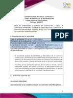 Guia de actividades y Rúbrica de evaluación - fase 4 - Diseño de la ruta metodológica para  un currículo interdisciplinar (1).pdf