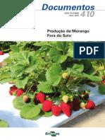 Produzao de morangos fora do solo