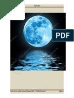 La luna es el único satélite natural de la tierra