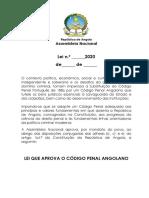 LEI CÃ_DIGO PENAL