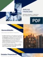 GENERALIDADES DEL ANÁLISIS FINANCIERO