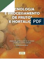 Tecnologia e processamento de frutos e hortaliças
