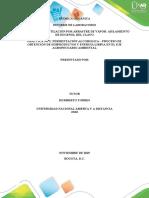 EmInforme de Laboratorio Practica 1 y 2 Quimica Organica