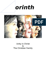 2 CORINTH - Unity and Family