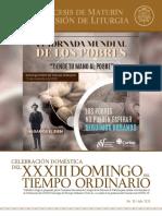 Subsidio - XXXIII Domingo del Tiempo Ordinario - Ciclo A (1)