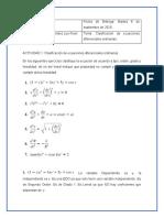 EDO_ Act 1 Clasificacion de Ecuaciones Diferenciales