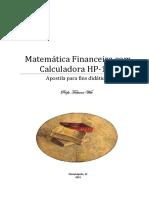 60531-354972Apostila MatemAtica Financeira Com HP12C Profa. Fabiana Witt EAD