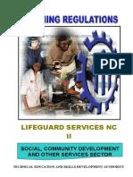 TR-Lifeguard Services NC II