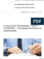 2017 – Um cheque em branco ao empresariado - Editora Fórum - Conhecimento Jurídico