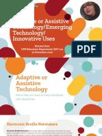 sosa adaptive assistive technology edu214