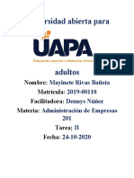 TAREA II ADM DE EMPRESAS.docx