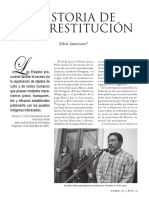 Ametrano, S. 2010. Historia de una restitución