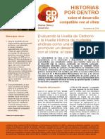 Huella CO2 y Hidrica de Lima