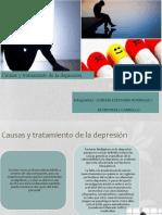 Causas y tratamiento de la depresion