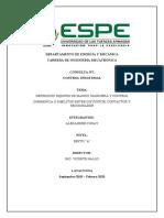 EQUIPOS DE MANDO, MANIOBRA Y CONTROL DIFERENCIA O SIMILITUD ENTRE DISYUNTOR, CONTACTOR Y SECCIONADOR