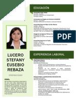 C.V. EUSEBIO REBAZA LUCERO - NO DOCUMENTADO