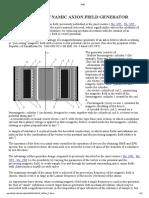 Shpilman - EM torsion field generator principles