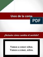 USO DE COMAS.ppt.ppt