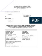 Georgia Response to Sidney Powell's 'Kraken' Lawsuit - 2